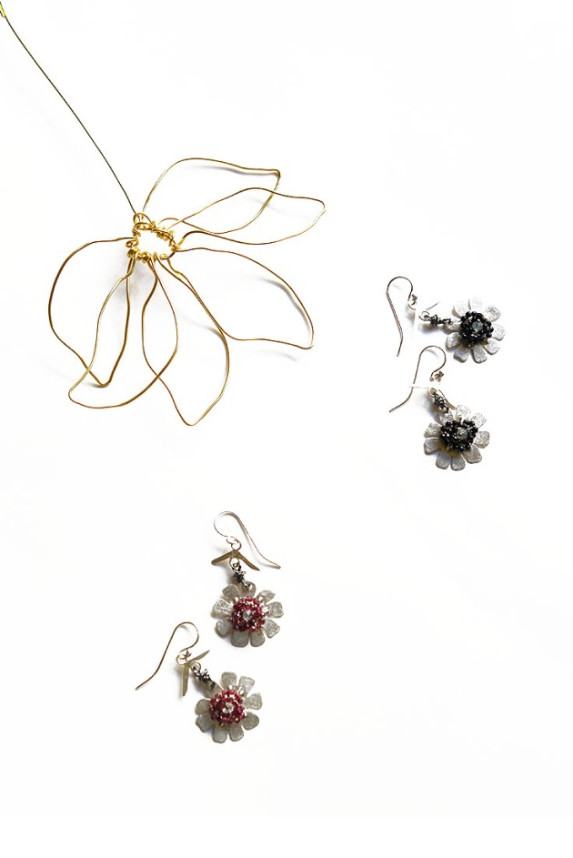 Sunetine Flower Earrings