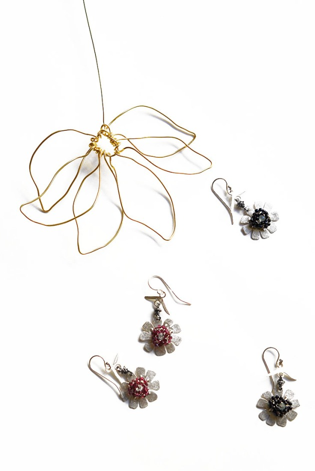 Suntine Flower Earrings