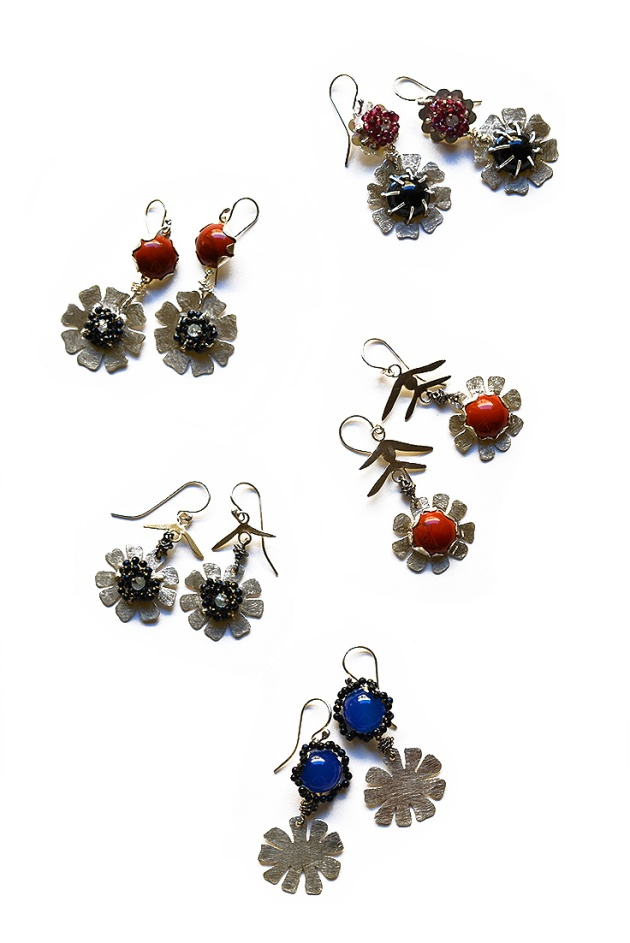Bouquet Earrings, Allyson Mellone